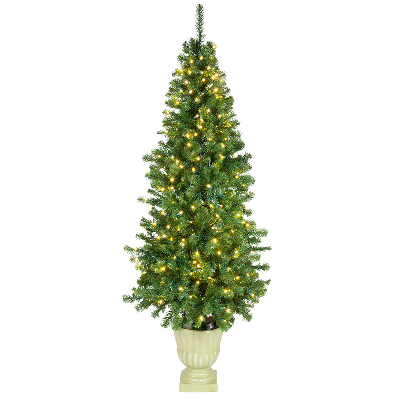 8 FT Artificial decorate Christmas Tree