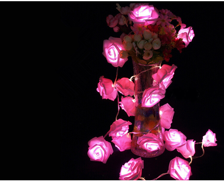 LED rose lighting