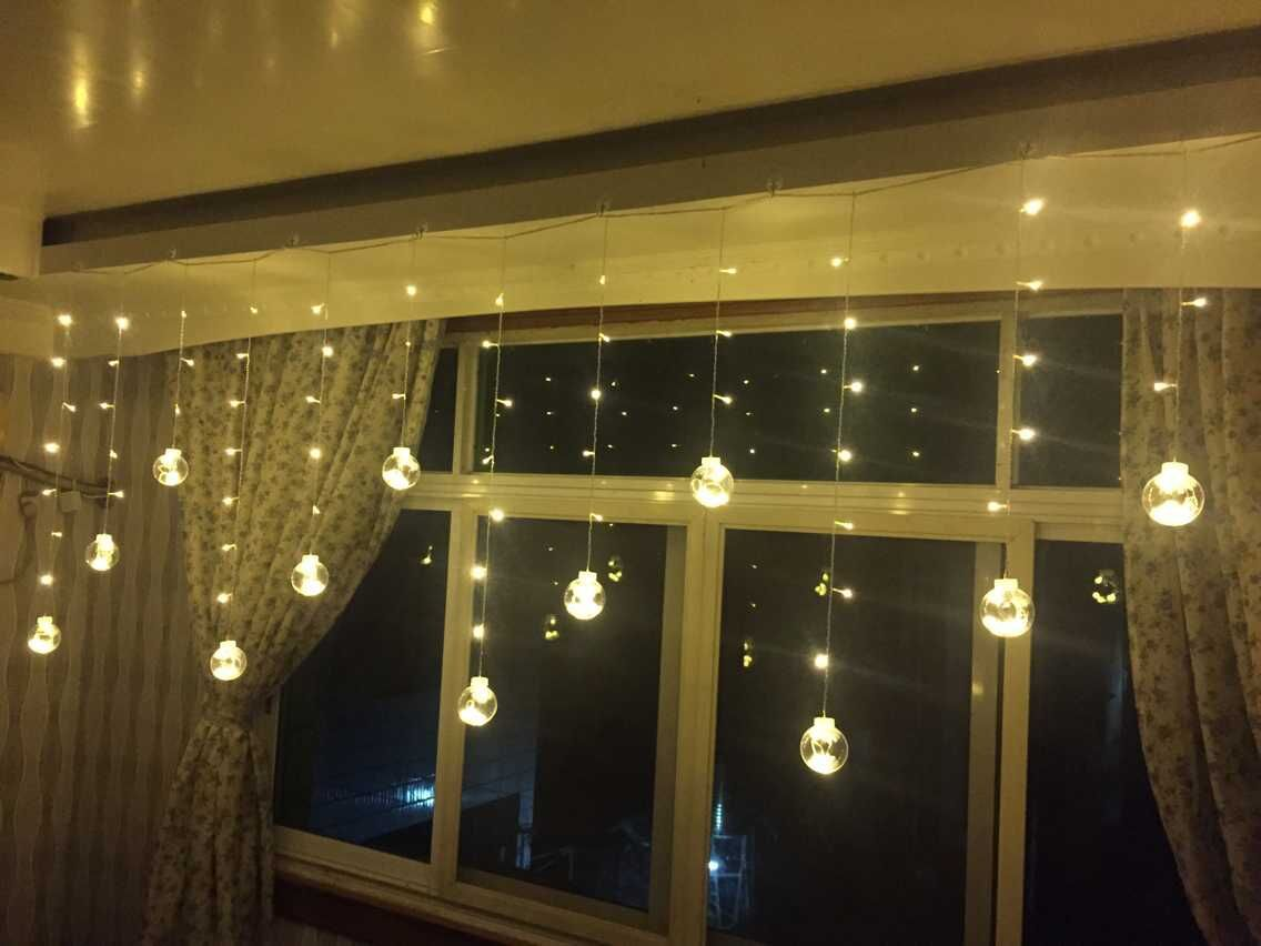 LED balls curtain  lighting